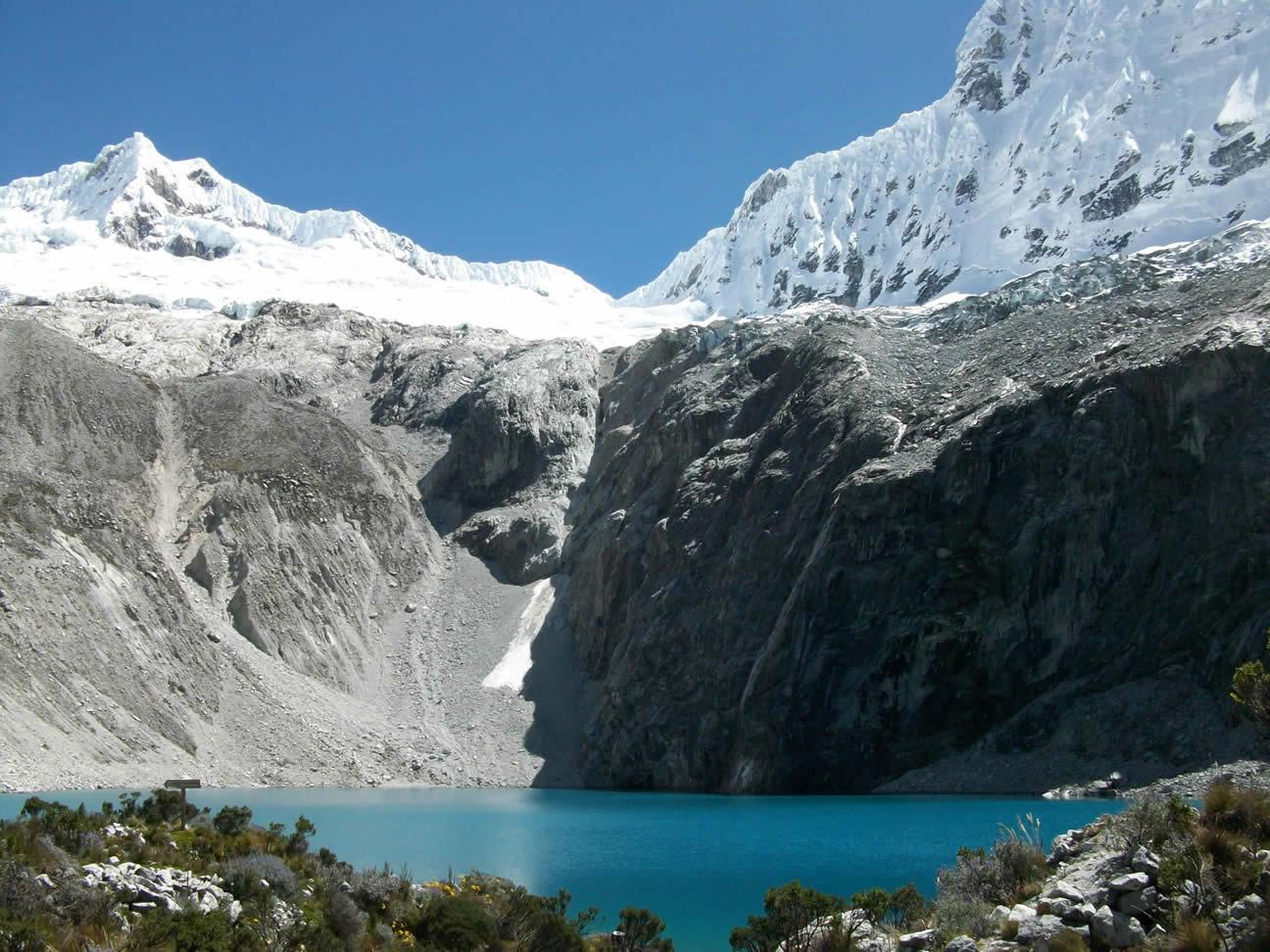 Lake 69 - Pisco base camp trek trekking 36