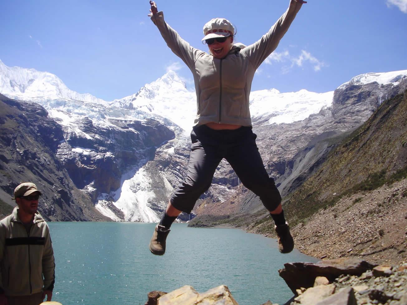 Quilcayhuanca Cojup trek trekking 75