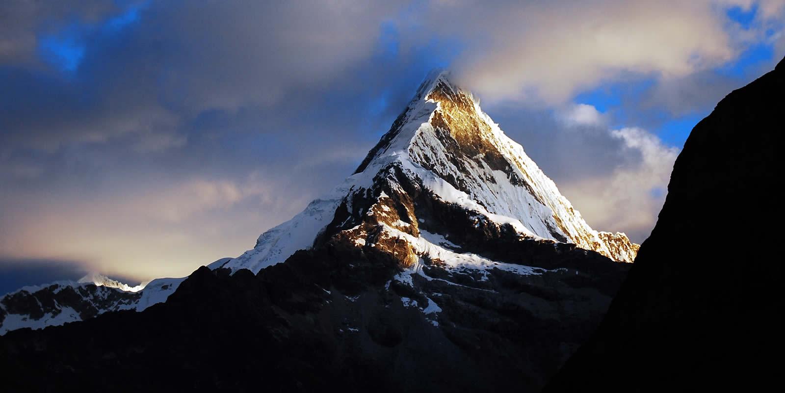 Andes Camping Expeditions artesonraju-mountain-1