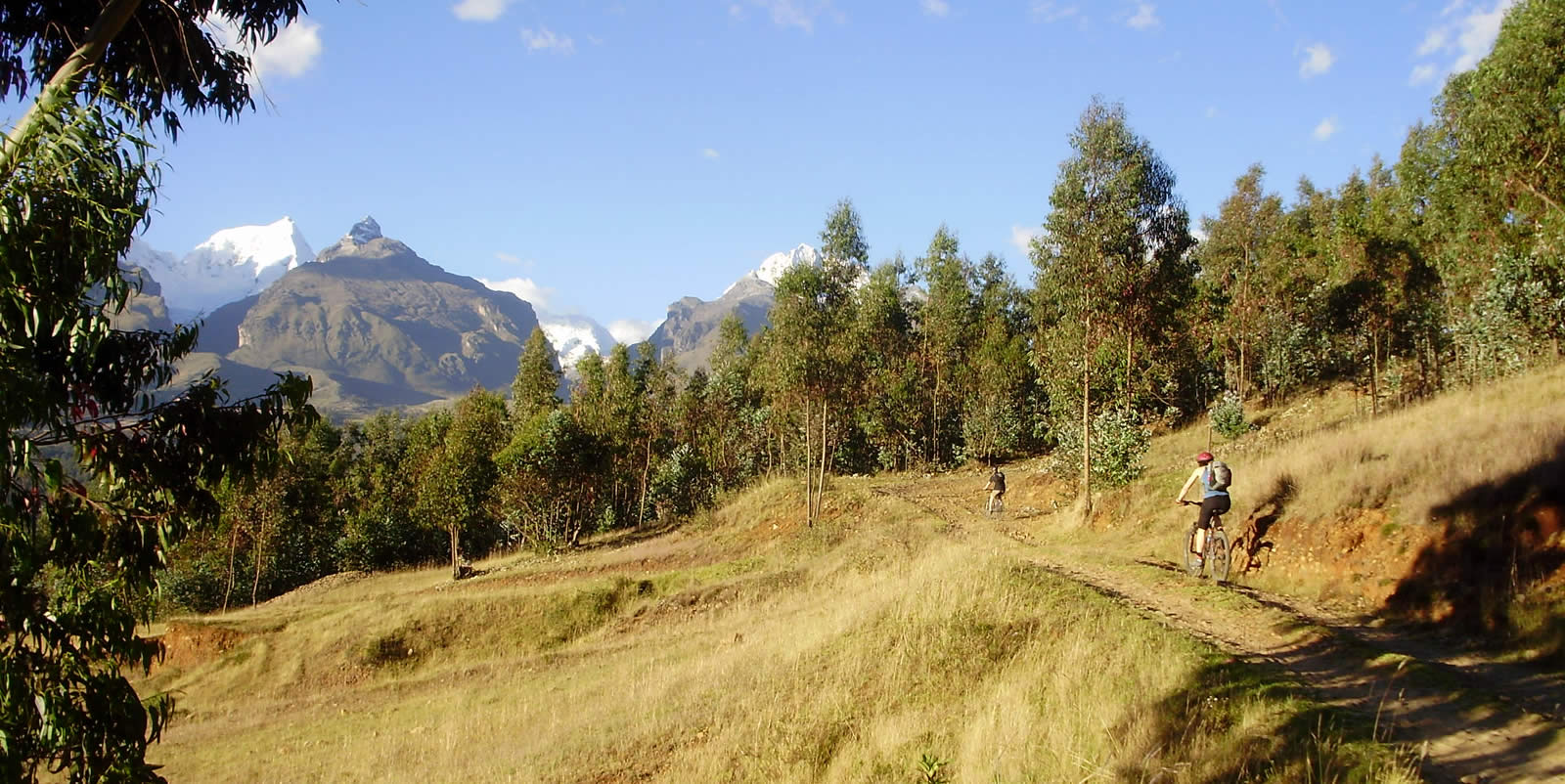 Andes Camping Expeditions mountain-biking-peru